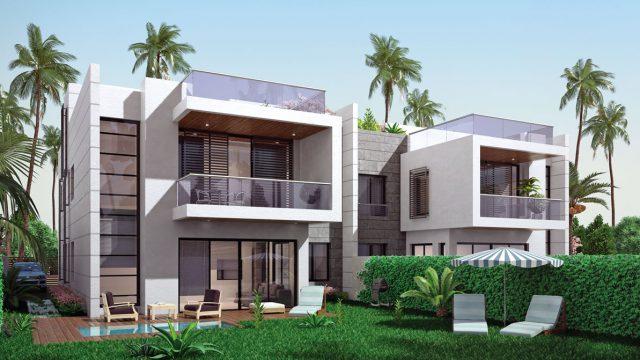 Iris Twin House