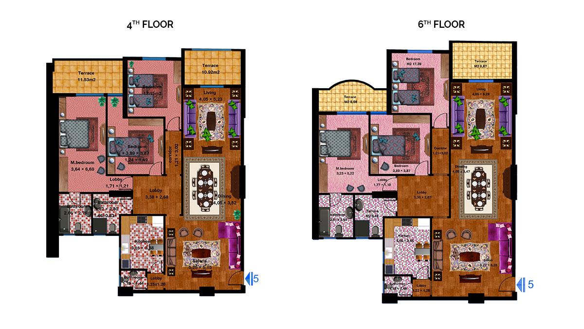 Apartment 5C