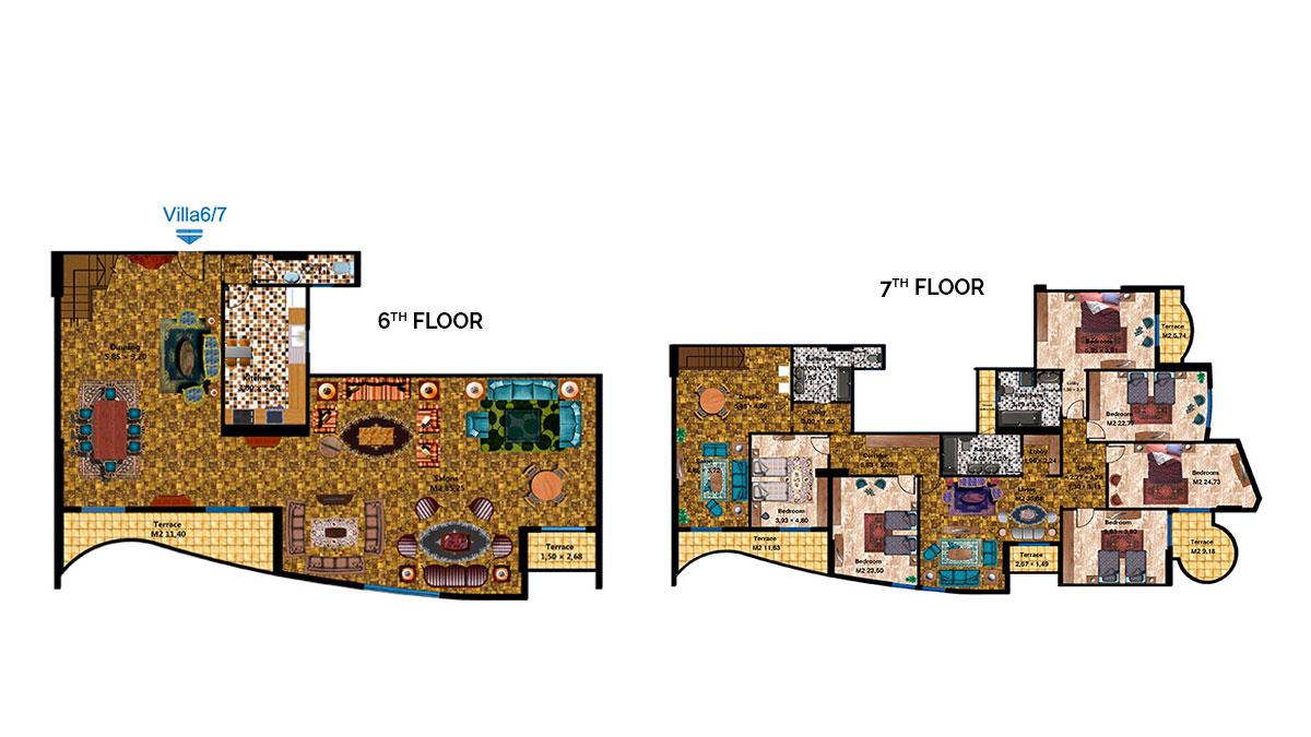 Duplex Apartment 6-7
